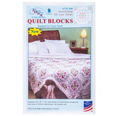 Interlocking XX Lace Tulips Stamped Cross Stitch Kit